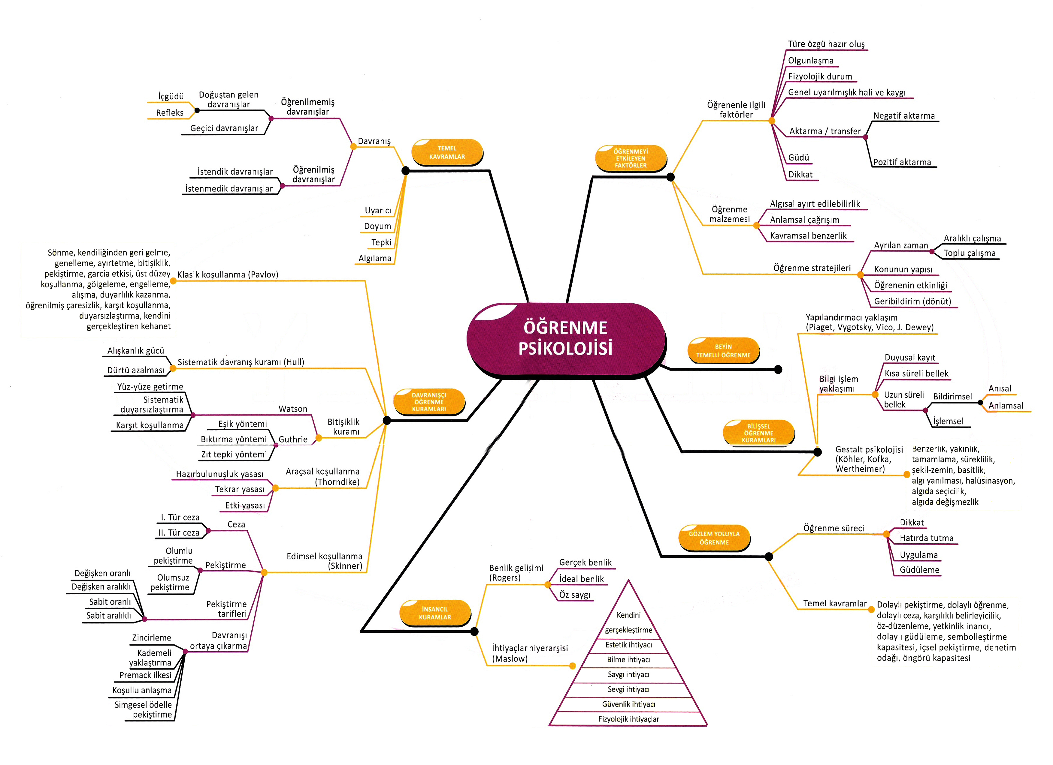 Eğitim bilimleri kavram haritaları