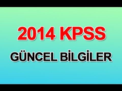 2014-kpss-guncel-bilgiler-videos